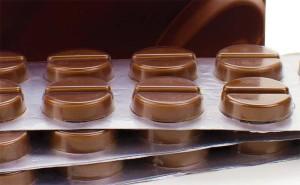 18. Шоколадные таблетки настоящее спасение для сердечников