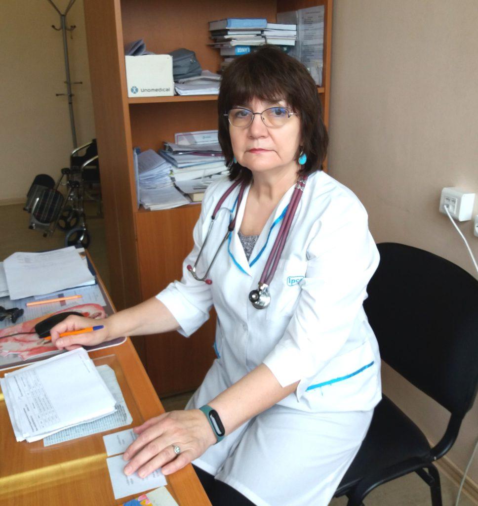Врач Вера Абдувалиева